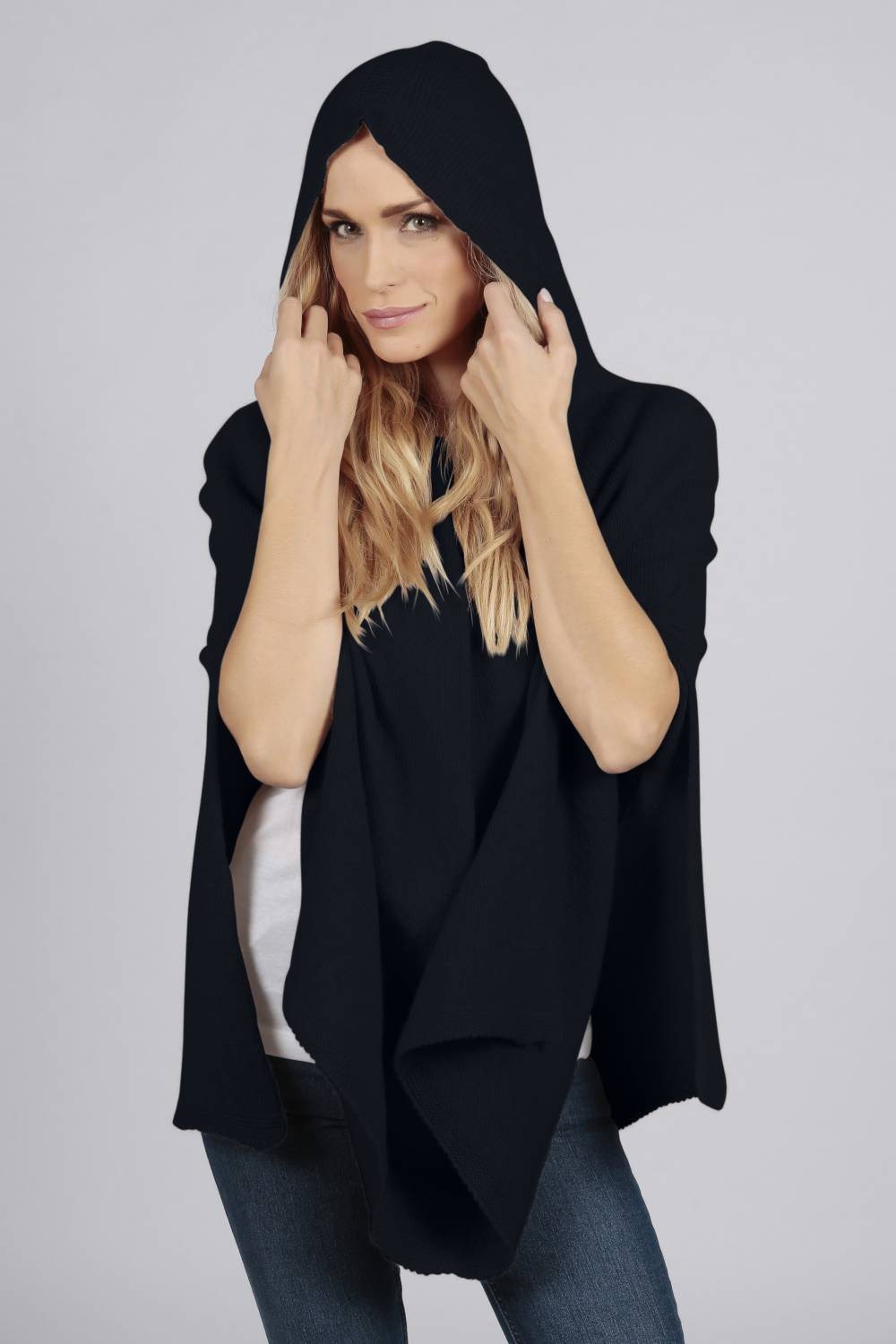 6255a3f55 Cashmere Ponchos for Ladies (100% Pure) | Italy in Cashmere Australia