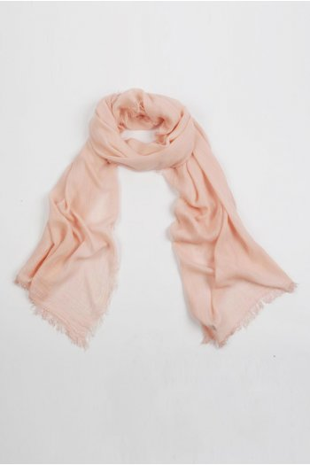 Lightweight Summer Scarf Shawl Wrap 100% Bamboo colour Baby Pink