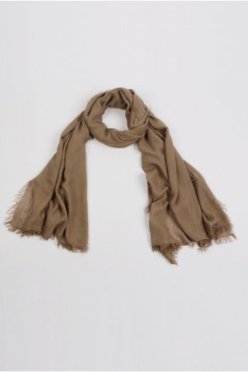 Lightweight Summer Scarf Shawl Wrap 100% Bamboo colour Brown