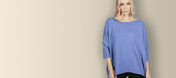 Pure cashmere sweaters