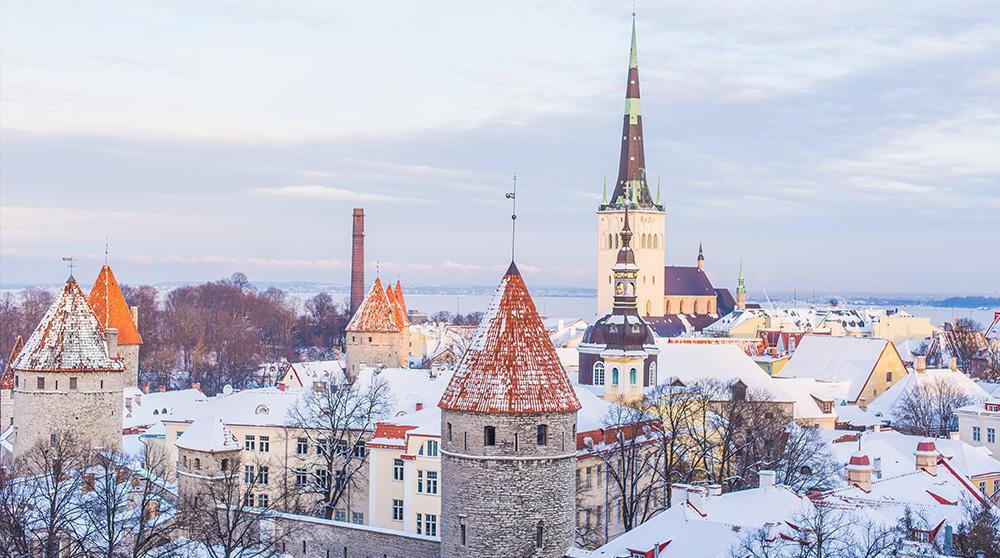 Winter in Estonia