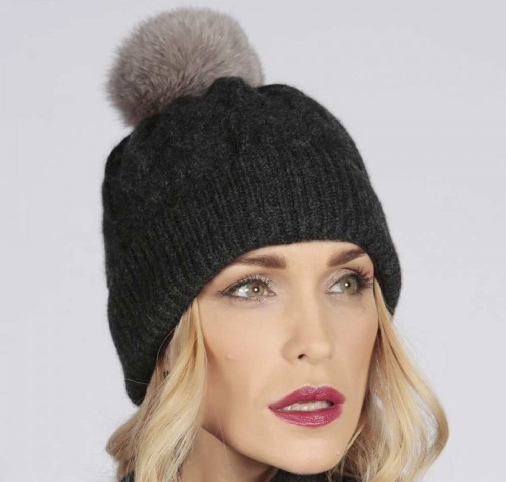Womens cashmere hat